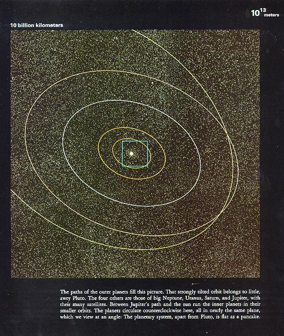 令人震撼的宏观宇宙和微观世界(图)