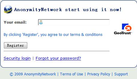 anonymitynetwork 提供多家国外免费VPN