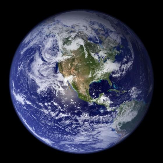 美NASA公布史上最清晰地球照片