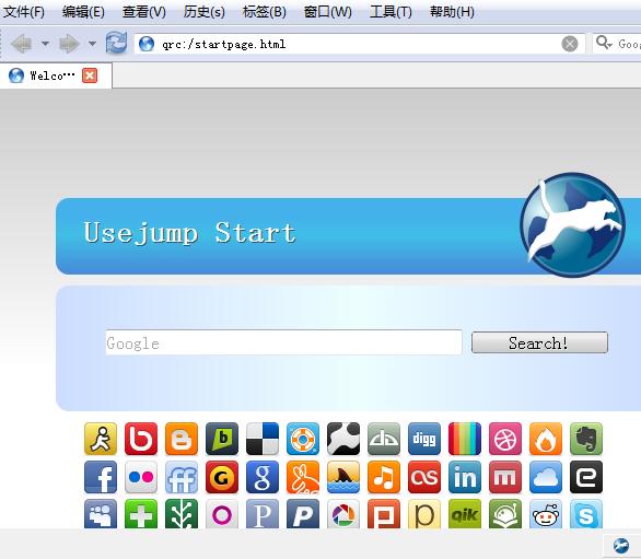 新的翻墙匿名代理浏览器UseJump