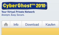 免费VPN:CyerGhost VPN Premium