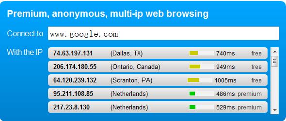 NewIPNow.com可变更IP的在线代理