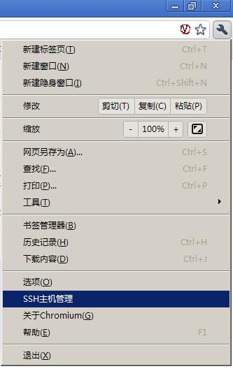 翻墙自动SSH浏览器vforchrome(v0.13)