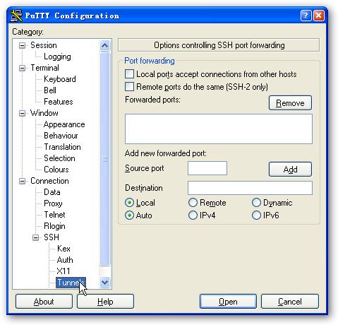 SSH-PuTTY–详细使用教程(二)