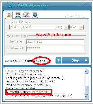 最新免费VPN Tunneling代理软件PD-Proxy