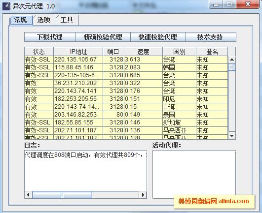 异次元代理(Hyperspace Proxy)绿色版下载及教程