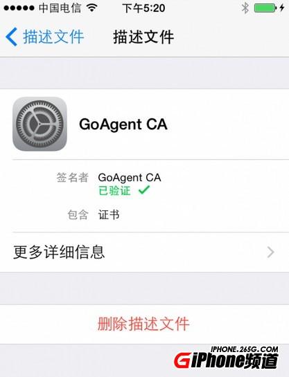 [轉]免越狱上网 iPhone配合电脑连接Goagent