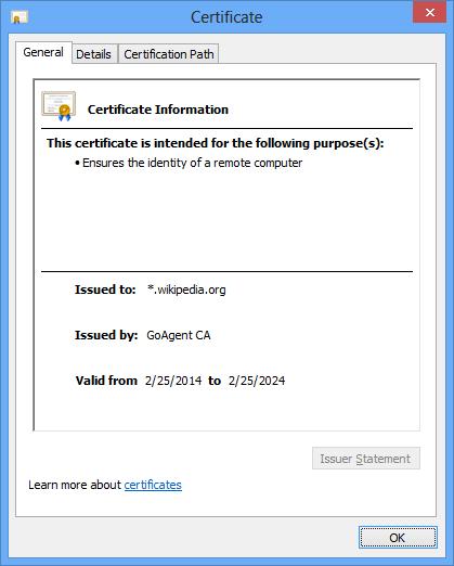 翻墙软件 GoAgent 的安全风险