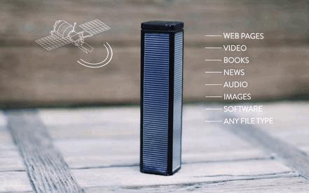 卫星lantern:一个设备免费接受卫星数据的墙外上网