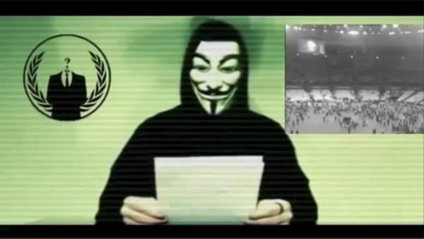 """为了自由!匿名者号召全球黑客""""对中共发动攻击"""""""