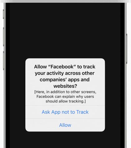 苹果将启用用户决定app隐私权限新功能,Facebook再度受质疑